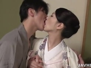 Miria Hazuki melancholy threesome porn pleasures asian amateur