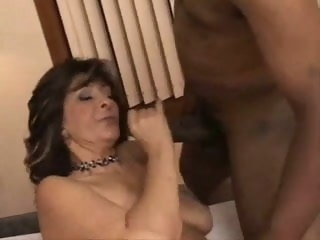 Hairy Mature Loves Beamy Black Cock mature hairy