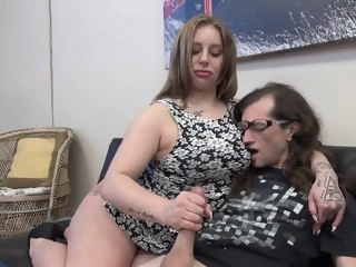 Handjob from mommy always works milf amateur