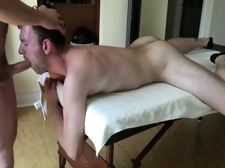 Slut fucked by two unavailable daddies bareback gay