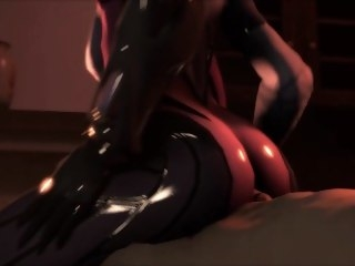 SFM Anaconda Booty threesome compilation