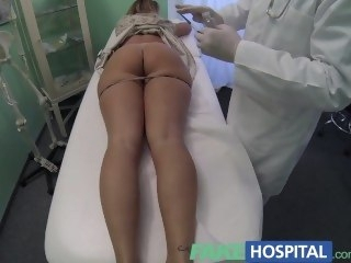 FakeHospital Doctor accepts X-rated russians pussy as payment blonde big ass