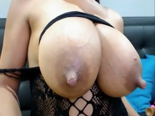 Huge Lactating Boobs (PART 1) big tits amateur