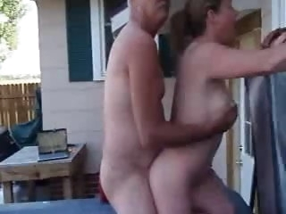 My Boss Fucks My Wife In the Outdoor Spa mature amateur