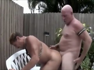 Rocco gets fucked raw by German Old man public gay