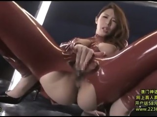 Dasd 299 japanese latex catsuit big tits big ass