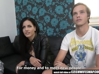 Uncensored True Face be worthwhile for Czech Wife Revolution amateur alt-girl