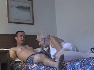 70 yr old granny with 20 yr old stud granny amateur