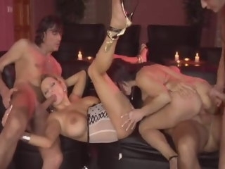 Swingin' Mom's Sex Party (full movie) milf group sex