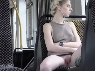Hot blonde enjoys broach nudity funny exhibitionism