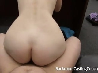 Fit Gamer Babe Anal and Cum Swallow Casting anal amateur