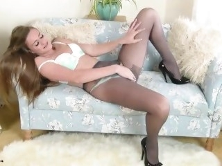 Pantyhose Honor May toys masturbation