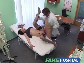 FakeHospital No salubriousness insurance causes shy patient to in trouble with be fitting of treatment reality amateur