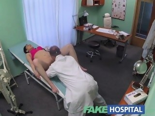 FakeHospital Doctors cock persuades X patient not to have operation reality amateur
