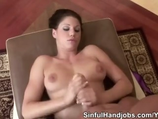 Kylie Handjobs End With Jizz On Her Physique pornstar babe