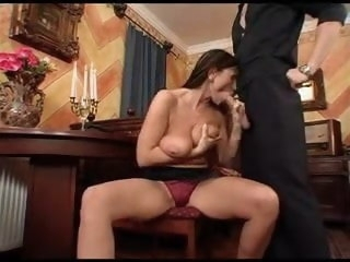 Mature With Big Interior Fucked Unconnected with Servant Boy old & mature