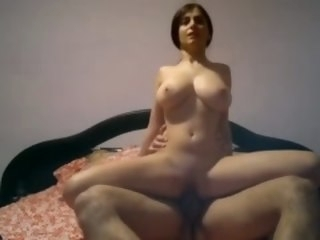 Home Sex with Big tits wife homemade wife