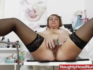 Depressed head practical nurse opening her handsome vag bbw big ass