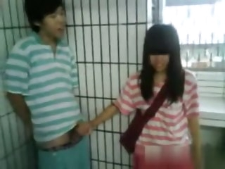 Flog Amateur movie with Asian, Dethrone scenes public asian